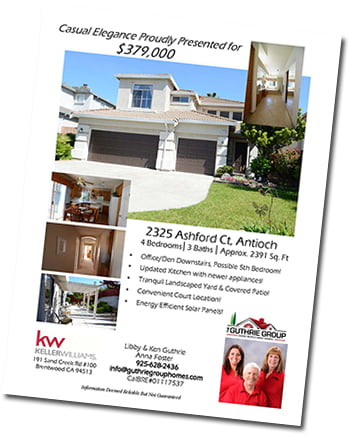 High-Quality Property Information Flyer
