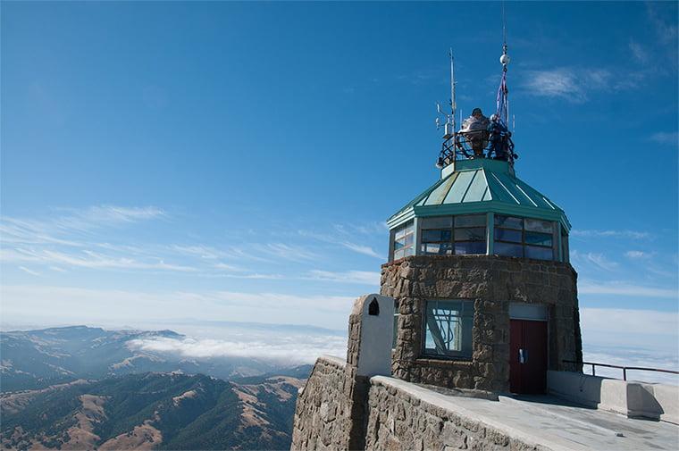 Mount Diablo Beacon Lift Off