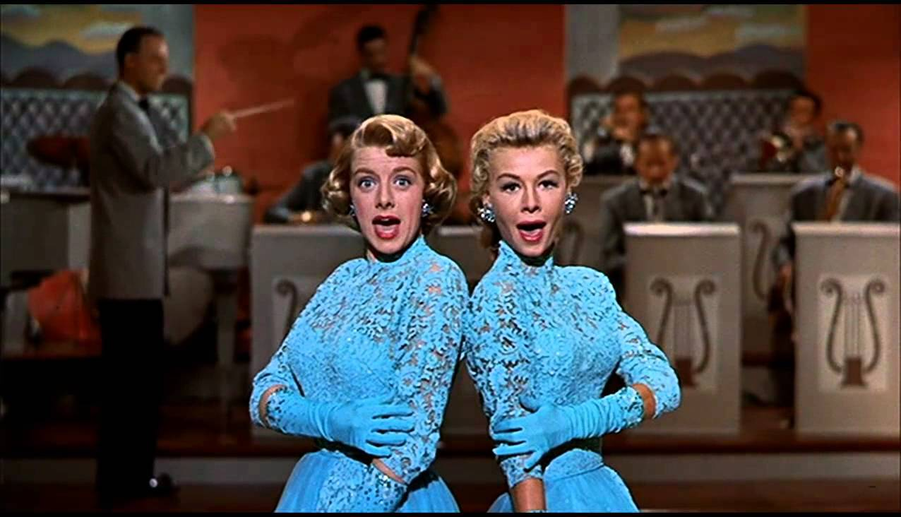 White Christmas - Rosemary Clooney and Vera-Ellen play sisters