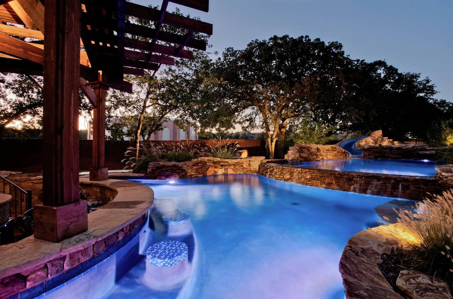 Home Improvement Tips - Beautiful home with upgraded pool in the backyard