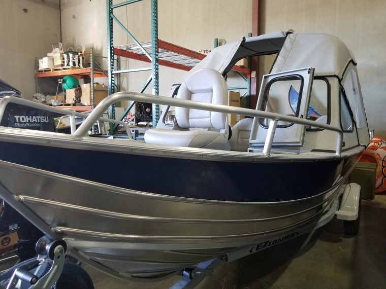 The Boat is ready for pickup!