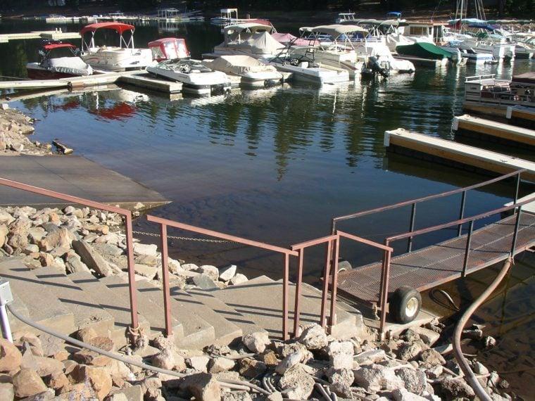 The Knotty Pine Resort Dock