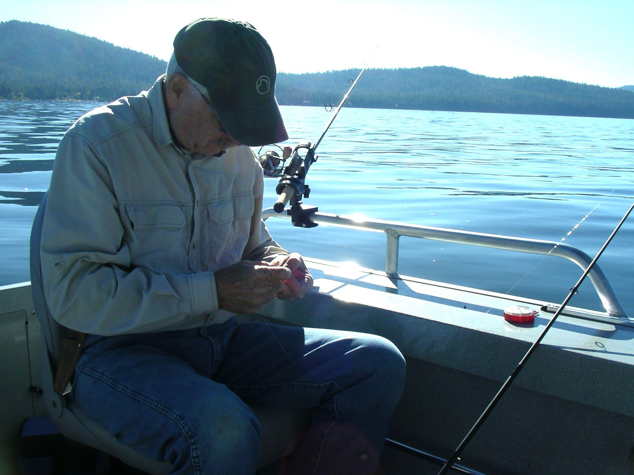 Ken Guthrie, Fish Whisperer