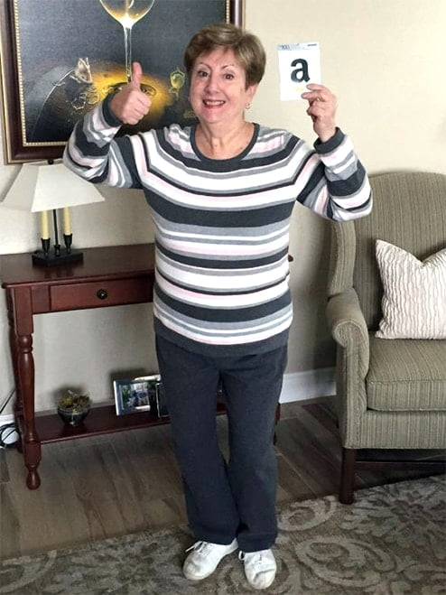 The Winner's Choice Winter Drawing Winner is Christine Martin - January 2018