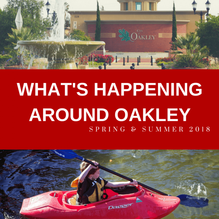 What's Happening Around Oakley Spring 2018