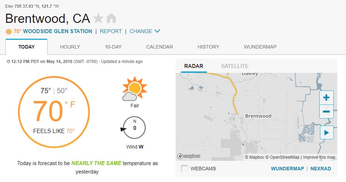 Brentwood ca 94513 weather - Le pierre new york