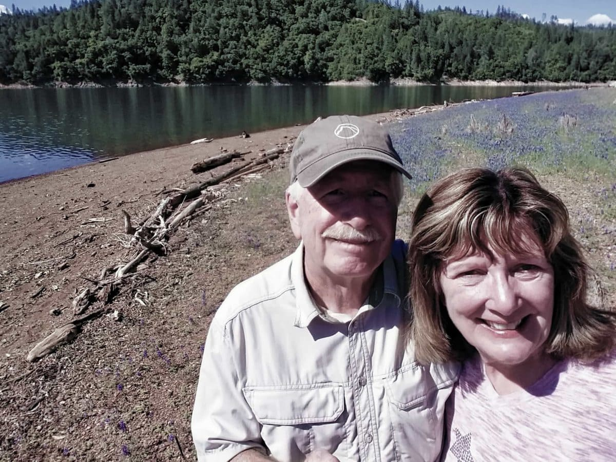 Ken and Libby Guthrie - Our Big Lake Shasta Adventure 2018