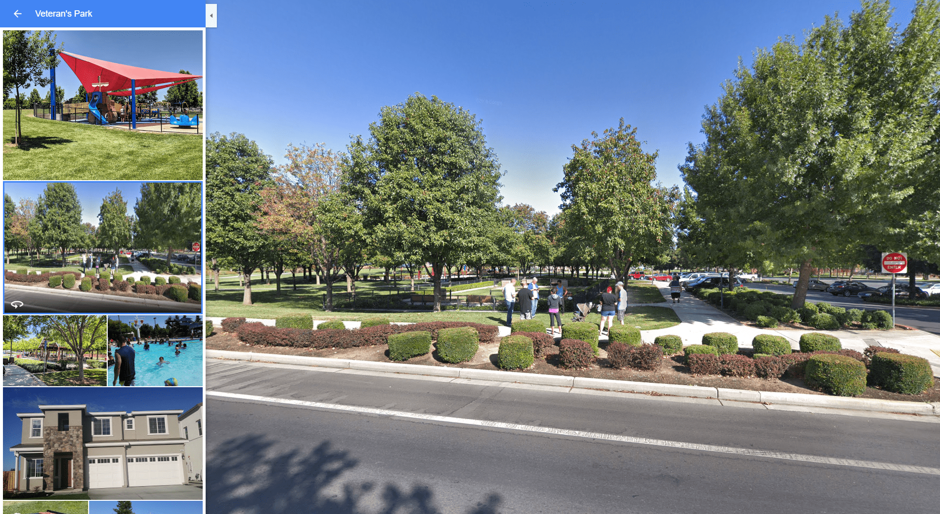 Veteran's Park - Brentwood CA