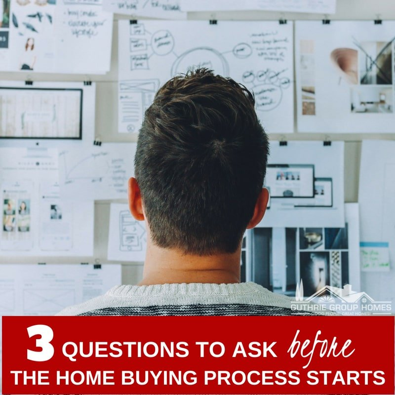 3 Questions to Ask Before Starting the Home Buying Process