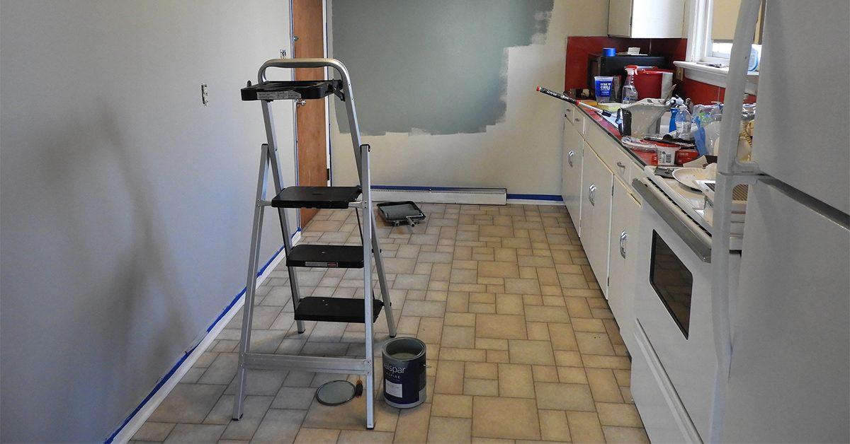 Minor kitchen remodel