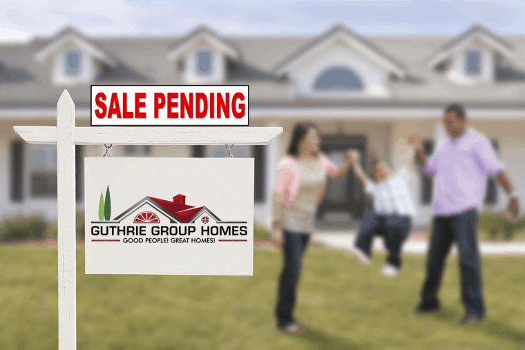 Reviewing offers, when accepted, your house is listed as Pending