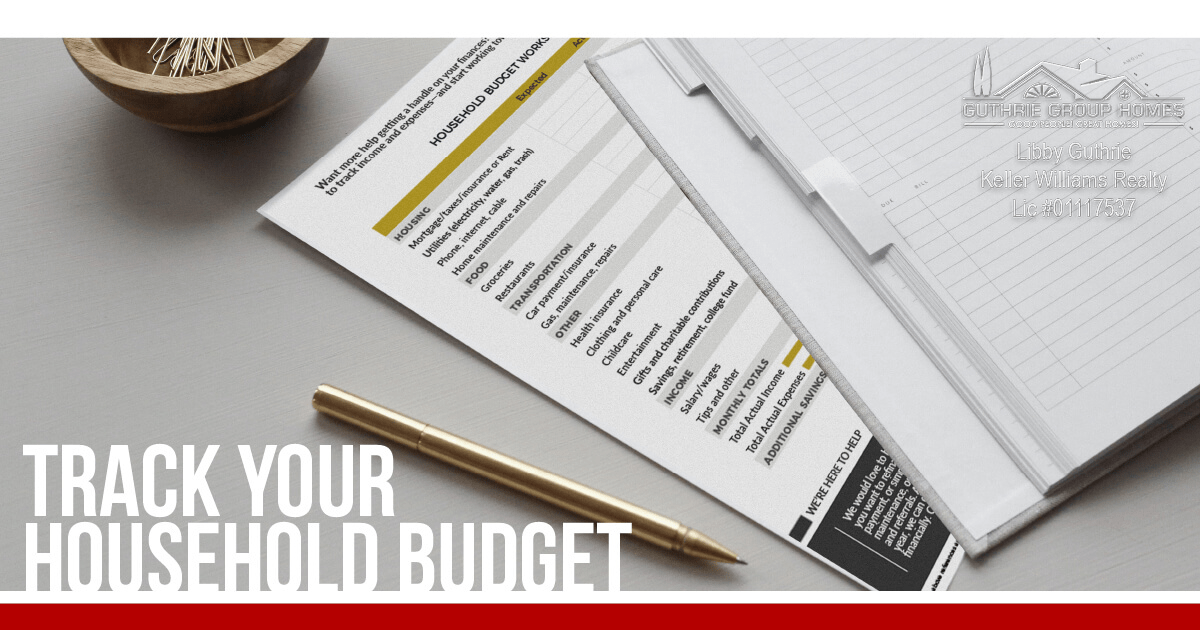 Track Your Household Budget Worksheet