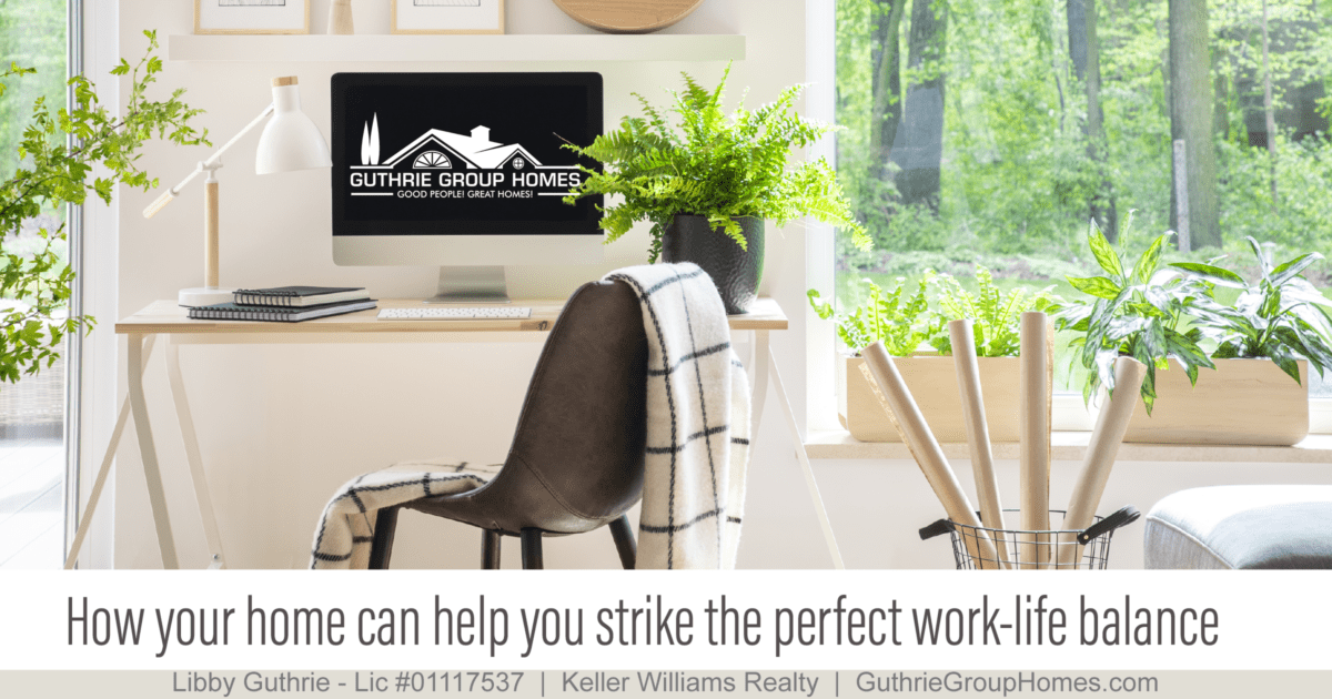 How your home can help you strike the perfect work-life balance