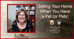 Selling Your Home with a Pet