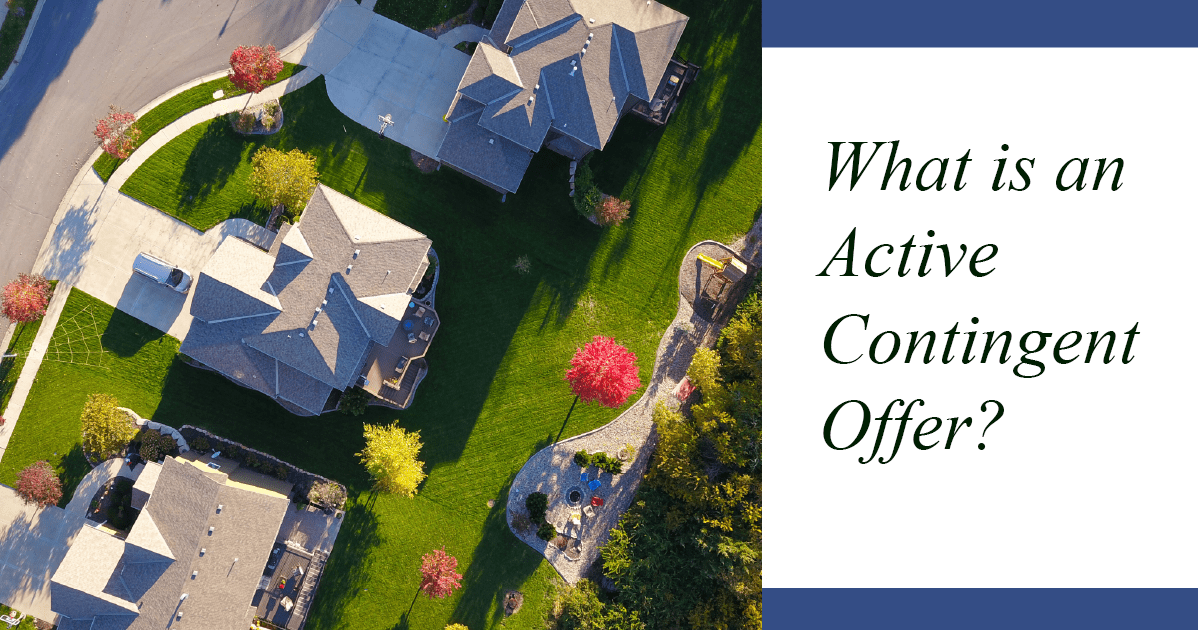 What is an active contingent offer