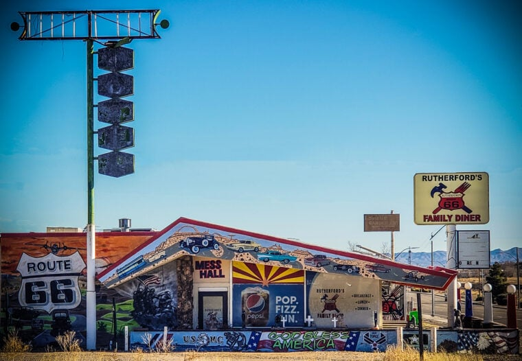 Rutherford's Family Diner on Route 66