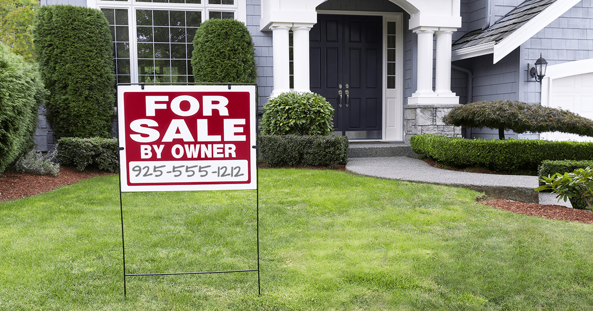 For Sale By Owner - Selling Your Home Without an Agent